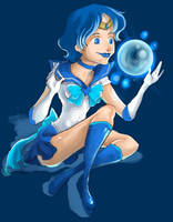 Sailor Mercury by i-am-MOKEY