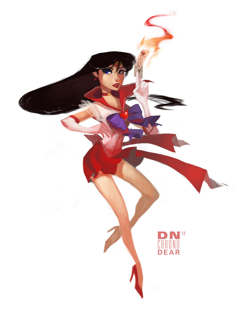 Sailor Mars by i-am-MOKEY