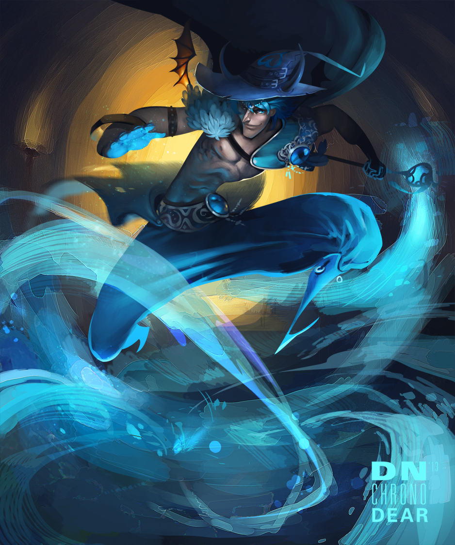 Blue Magic by i-am-MOKEY