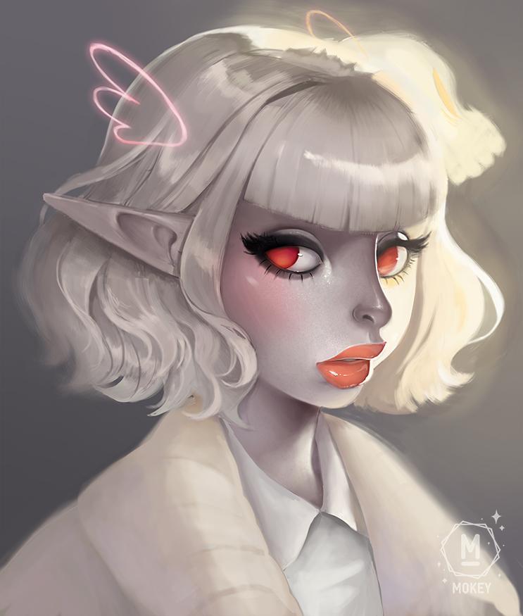 White Elf by i-am-MOKEY