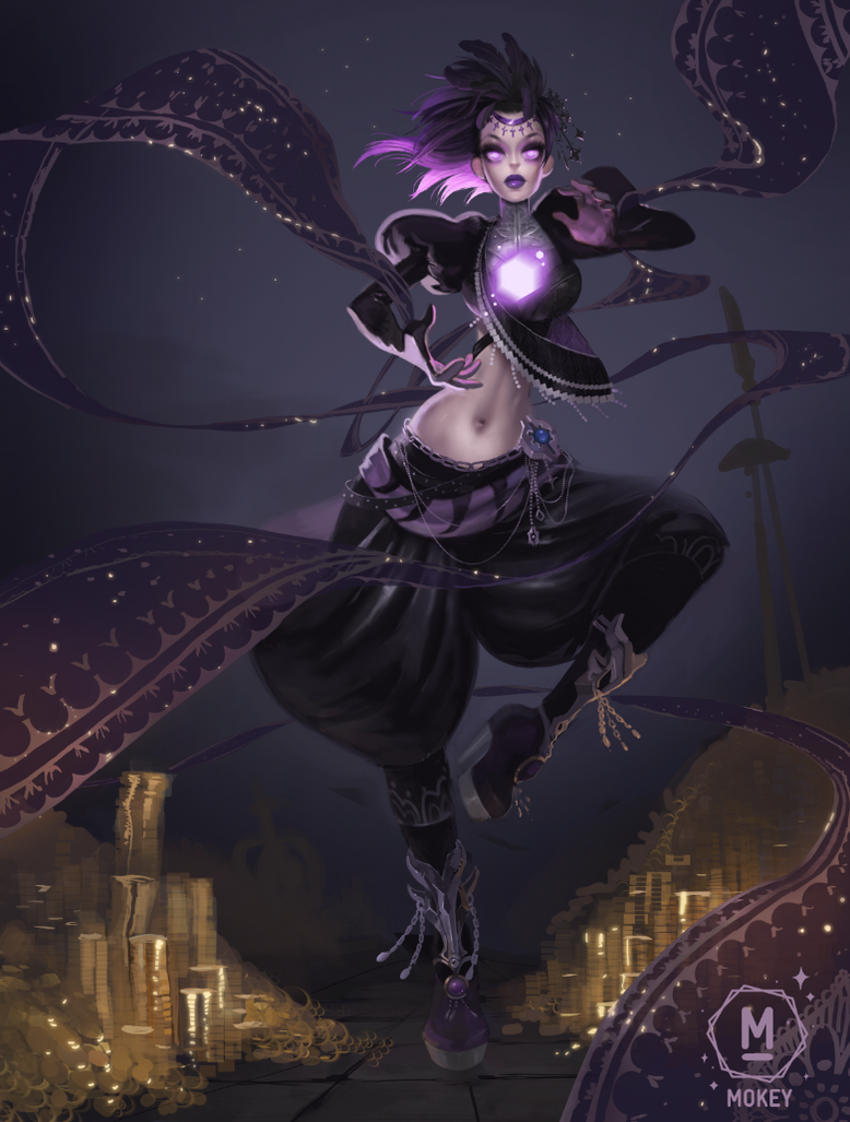 Dark Magic by i-am-MOKEY