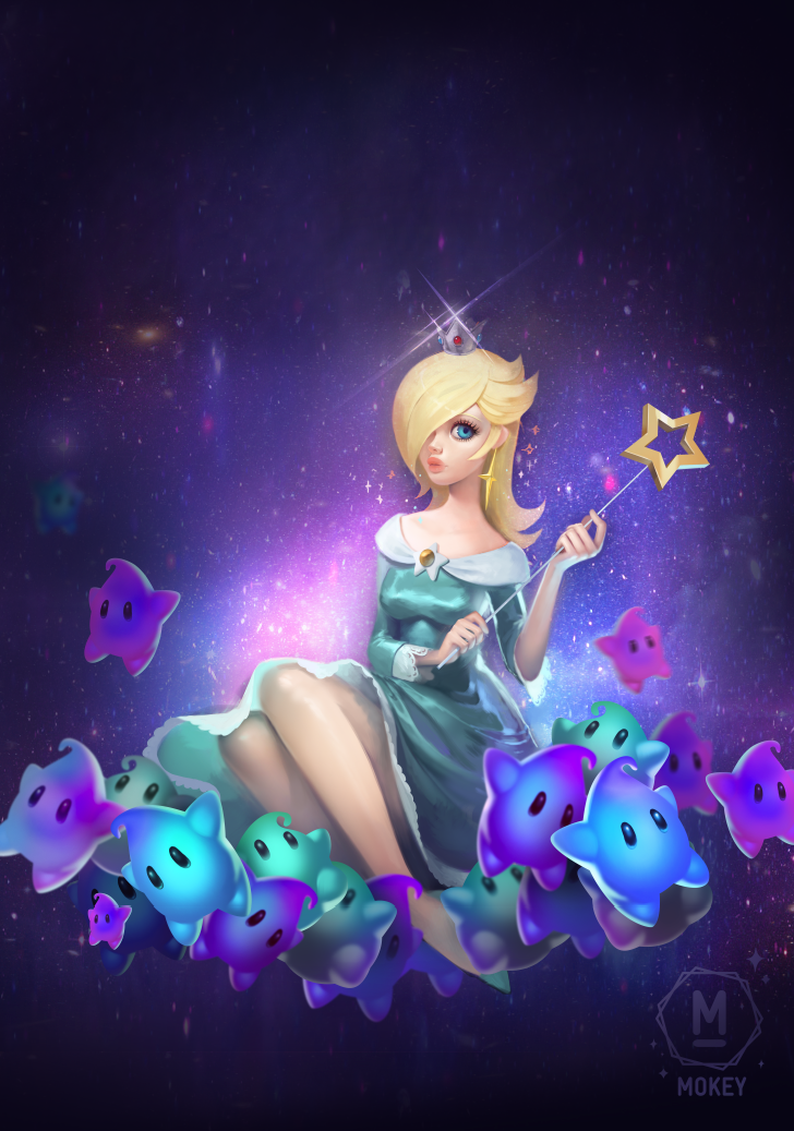 Rosalina, Princess of the Cosmos by i-am-MOKEY