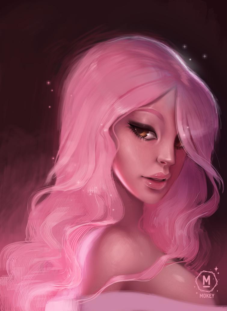 Pretty in Pink by i-am-MOKEY