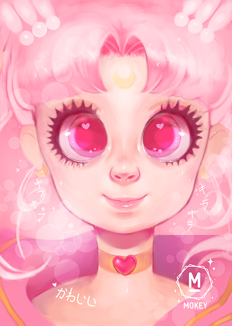 Chibiusa by i-am-MOKEY