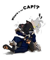Where is my cap?