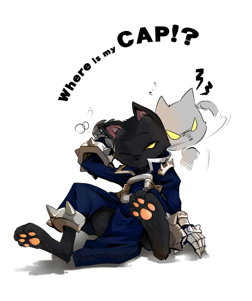 Where is my cap? by wongkaoru