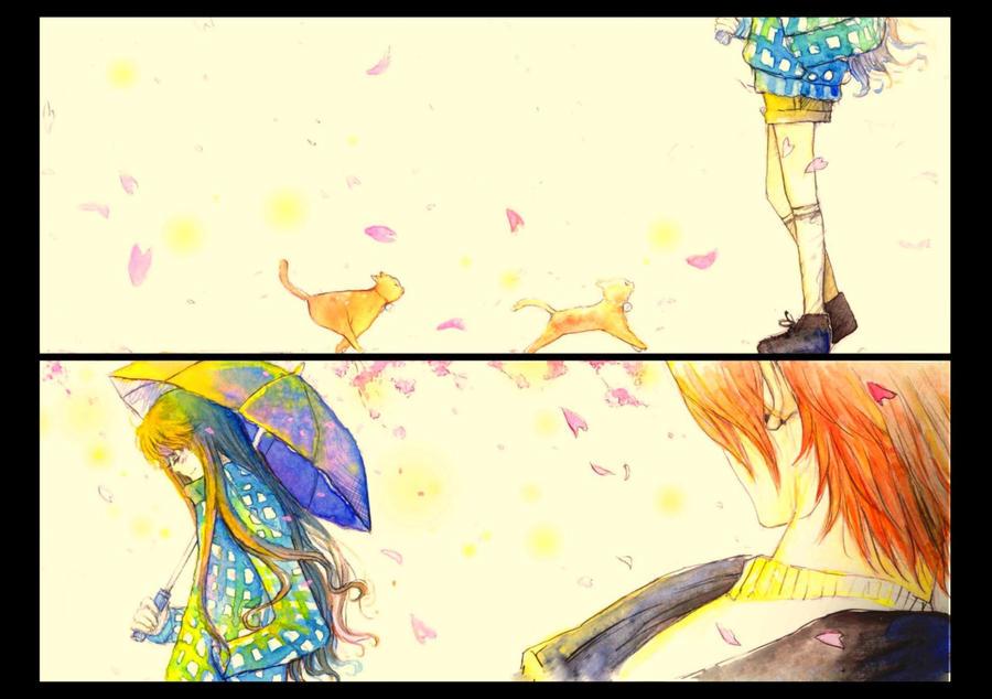 Love in spring . by hiki247