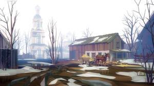 March. Mist