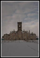High Royds Snowing