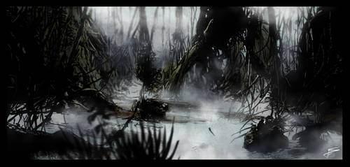 Dagobah by Fisher22
