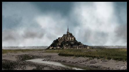 Mont-Saint-Michel by Fisher22