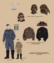 Luftwaffe pilot uniform by Fisher22