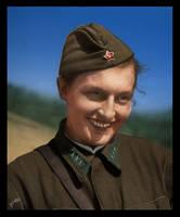 #13 Lyudmila Pavlichenko by Fisher22