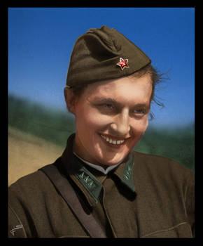 #13 Lyudmila Pavlichenko