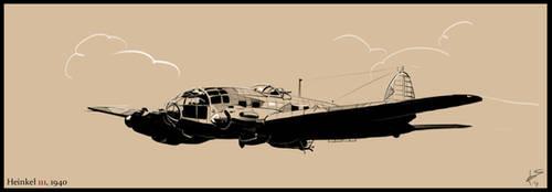 Heinkel 111 by Fisher22