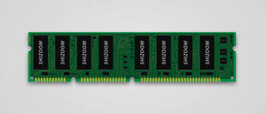 PC Ram Memory Chip by duceduc