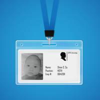 Employee ID Badge by duceduc