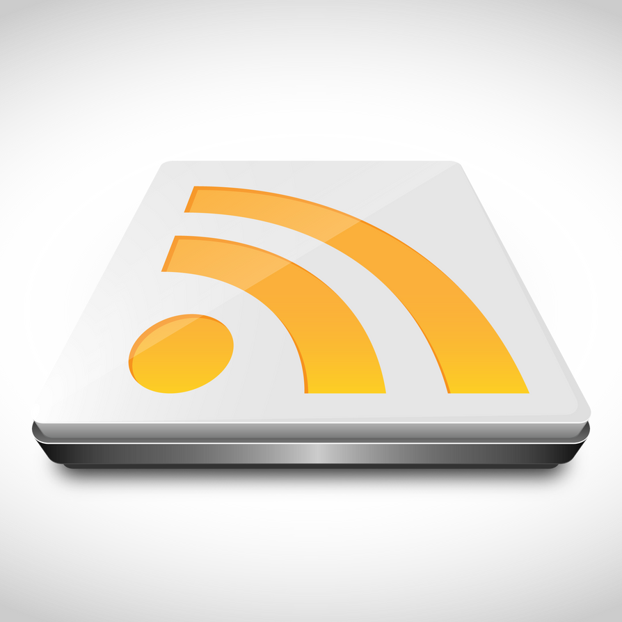 3D RSS Feed Icon by duceduc