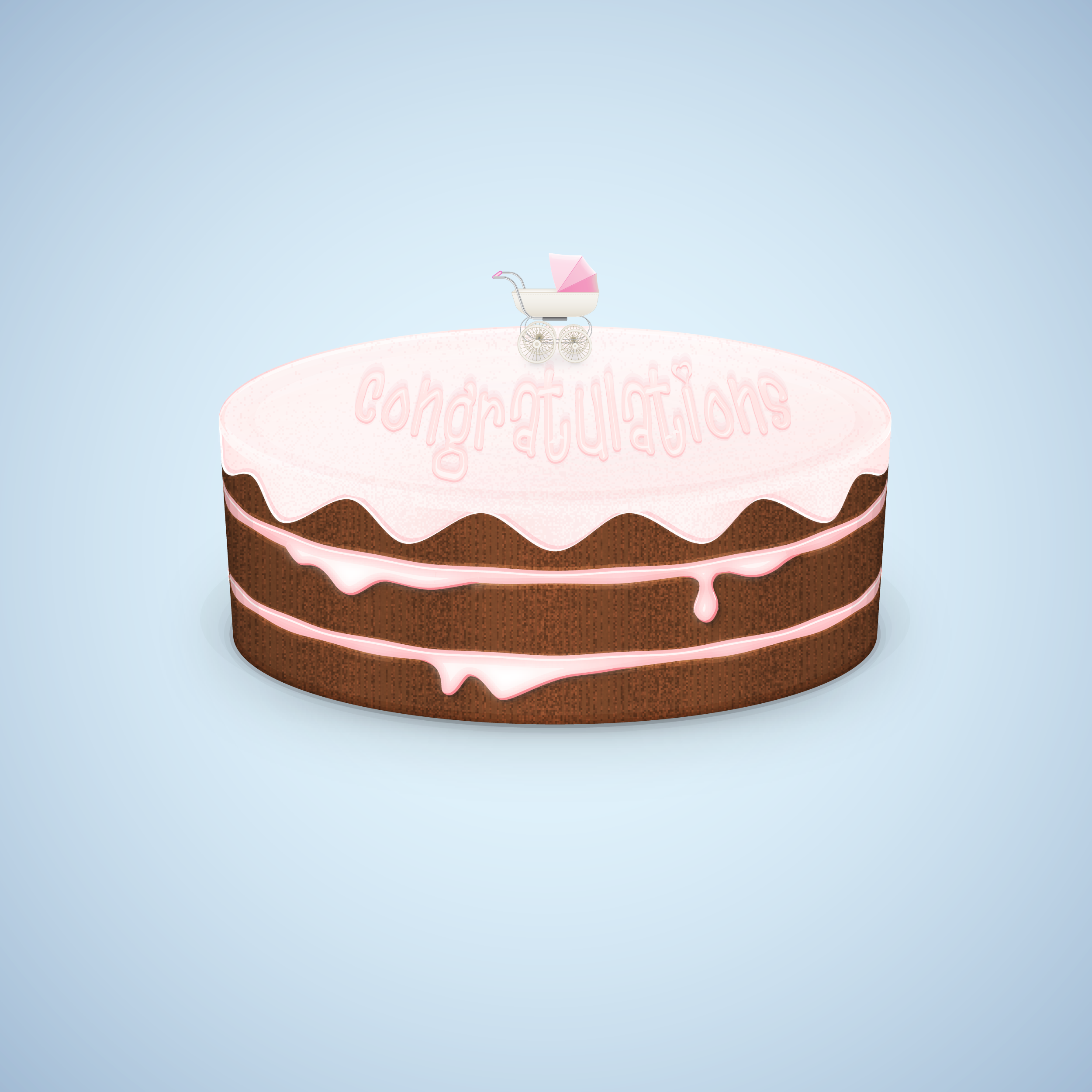 Cake Art Reddit : Chocolate Cake Illustration by duceduc on DeviantArt