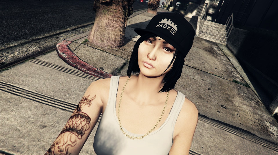GTA Online - My asian character 4 by smileybeat on DeviantArt