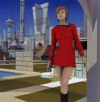 Trek Girl by ciboraven