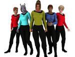 More Trek girls