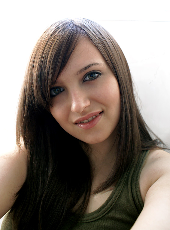brown haired girl