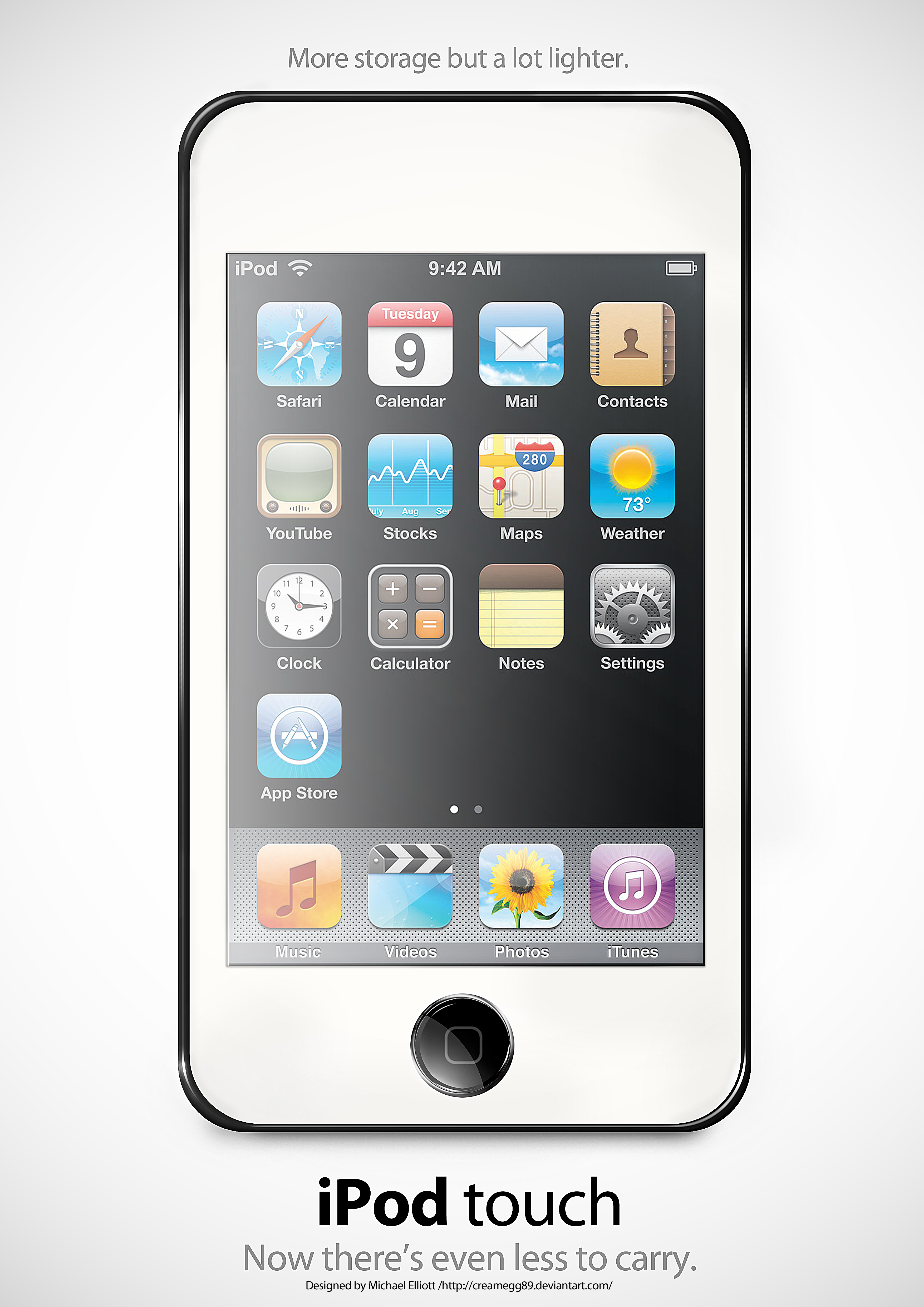 Image Gallery 3-generation Itouch