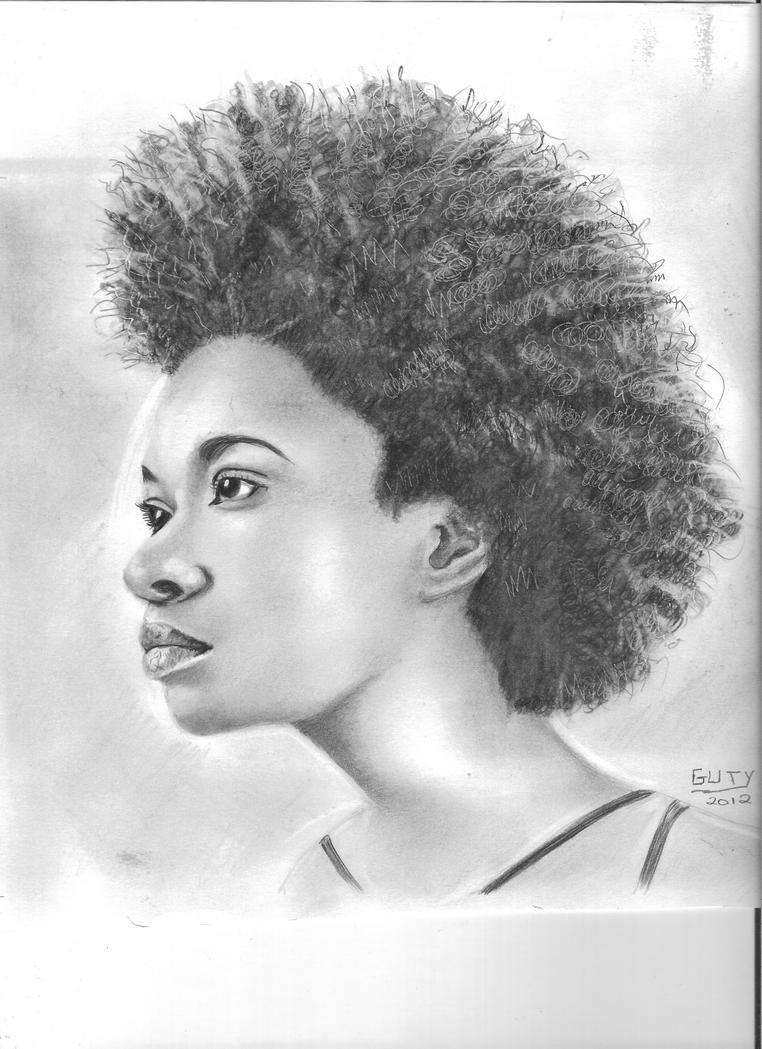 desenhos de modelos negras by guty20