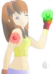 Hitomi from Dead Fantasy by KookyKyah