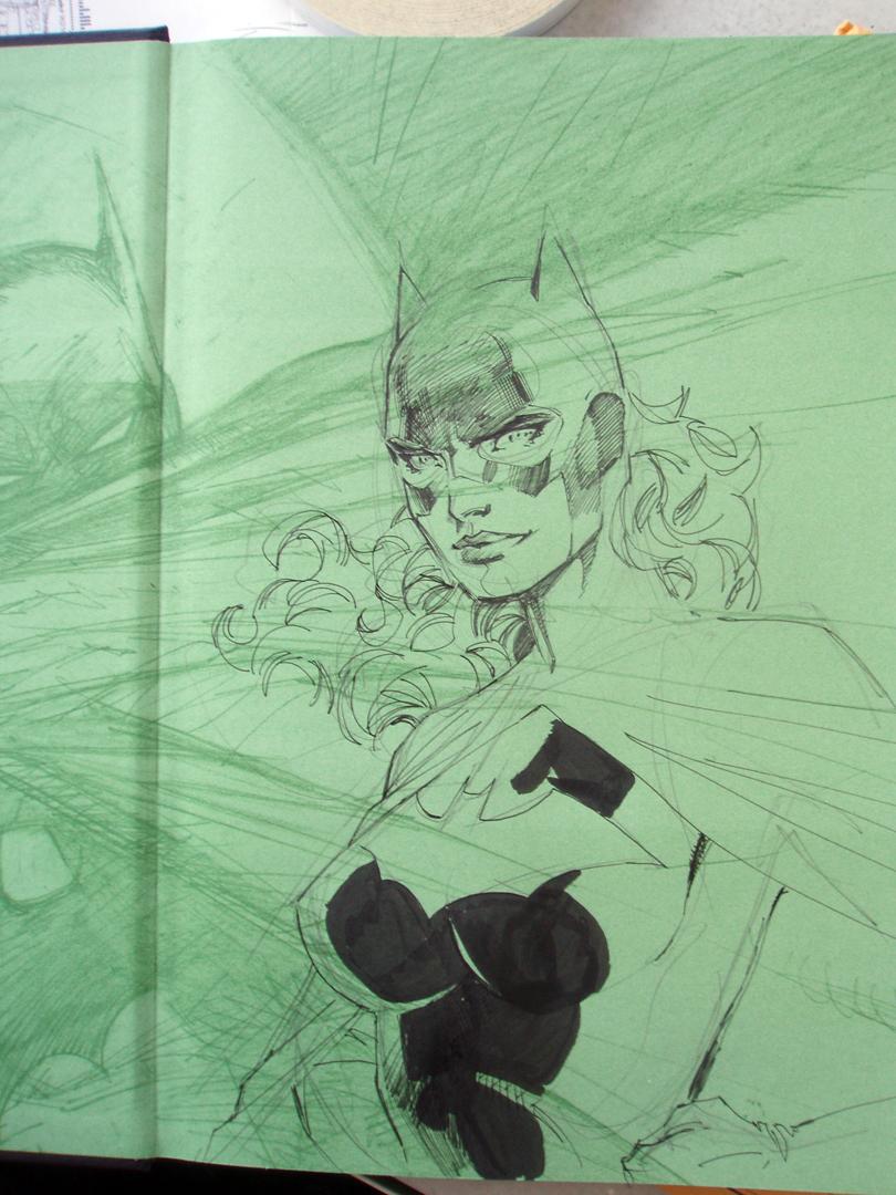 Batgirl in 6 easy steps STEP 3