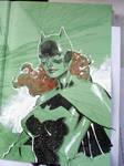 Batgirl in 6 easy steps STEP 5 by jimlee00