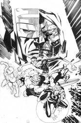 WS Fantastic Four Art Jam by jimlee00