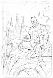 Batman Barcelona rough layout by jimlee00