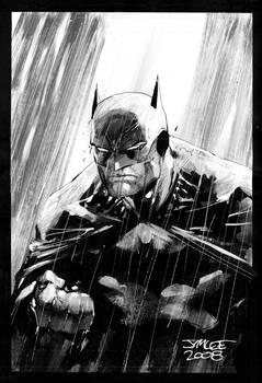 Batman in the Rain Redux