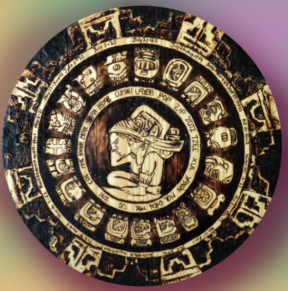 Mayan Zodiac Calendar By Yaoshao On Deviantart
