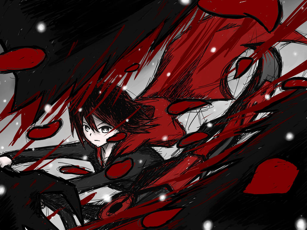 RWBY Ruby Red by AznSketch42