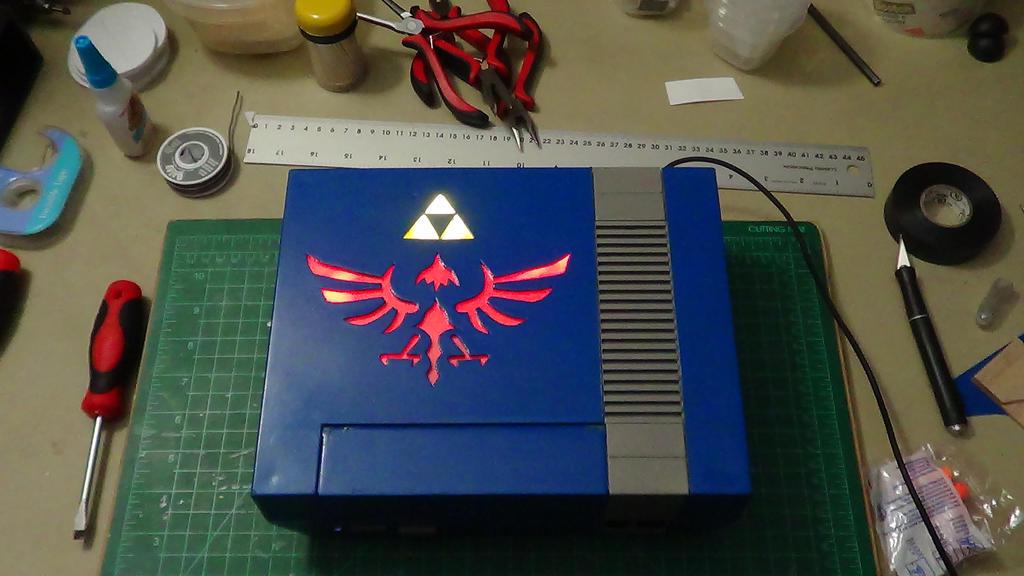 Custom Legend of Zelda NES (44) by devastator006