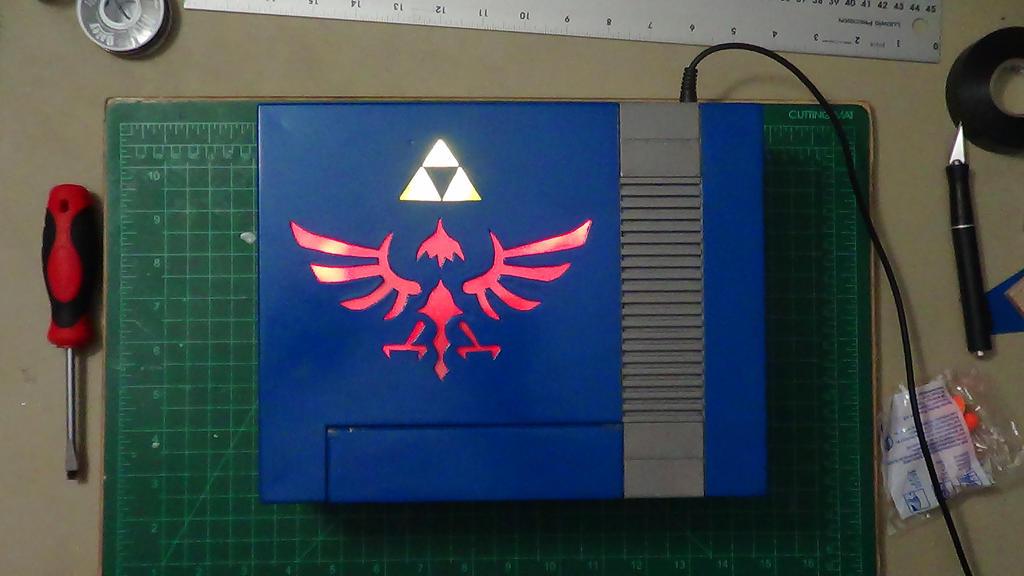 Custom Legend of Zelda NES (45) by devastator006