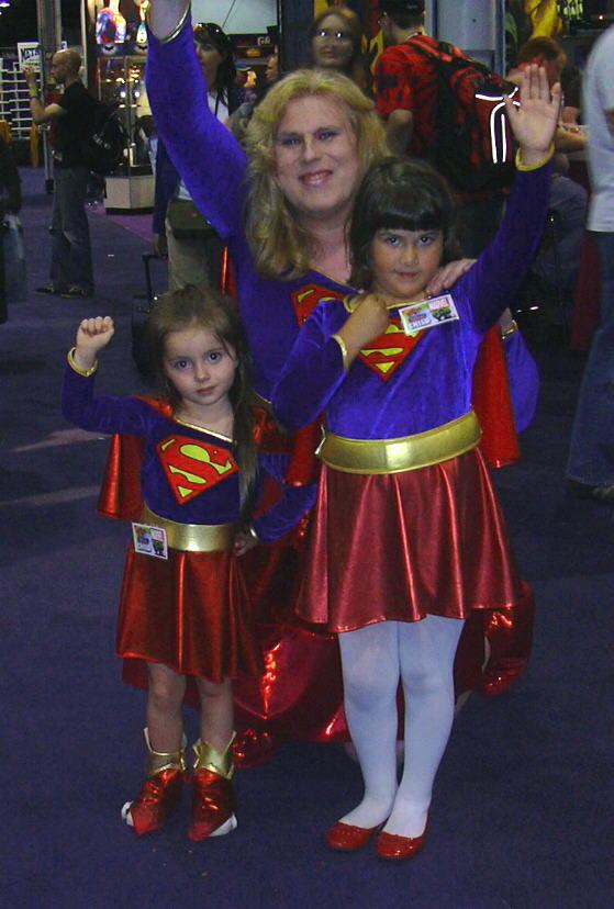 The Legion of Supergirls by MellissaLynn