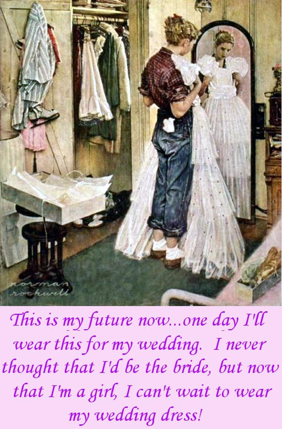 Wedding Dreams Caption