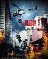 Rescue Operation Scene  GORV96WALLS  by gorv96