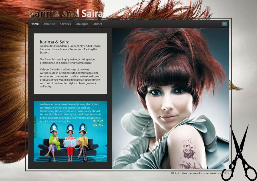 Website for UK Beauty salon by y2j2005
