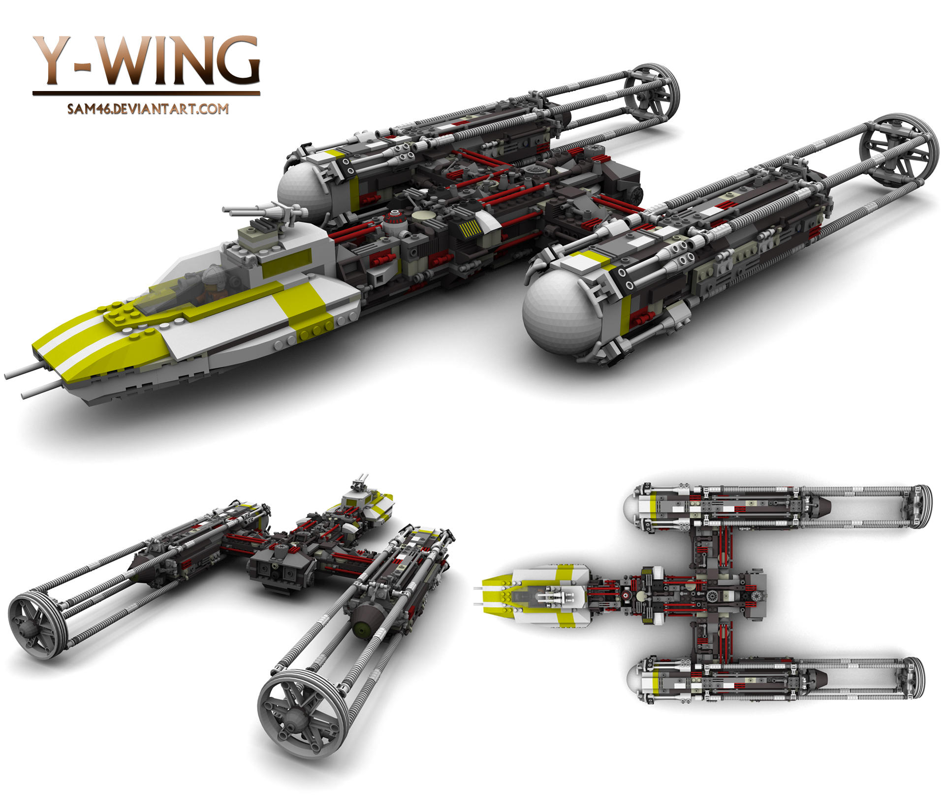 Y Wing By Sam46