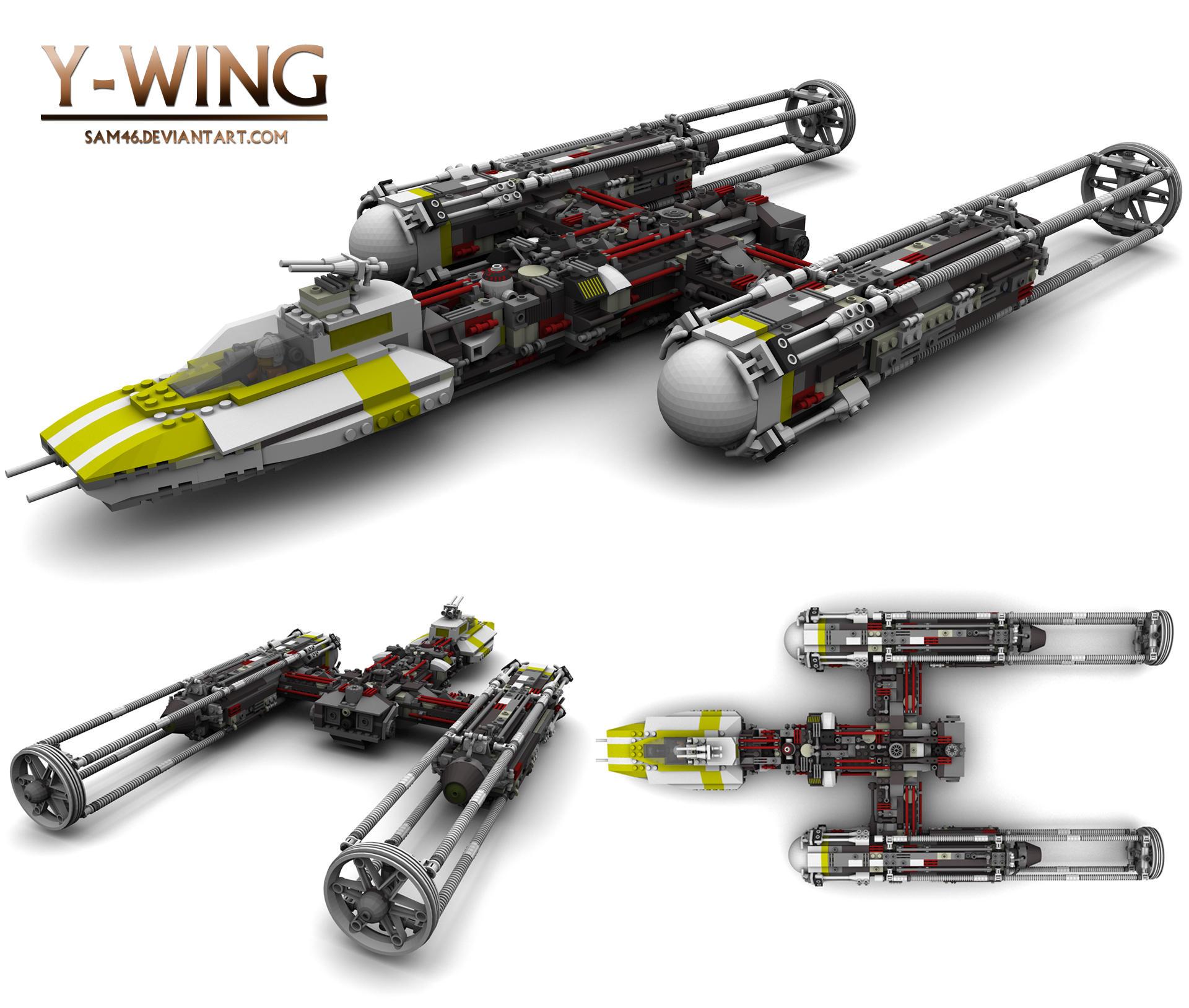 LEGO Y-Wing   Ju...Y Lego