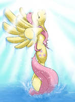 Fluttershy Sparklus by Michinix