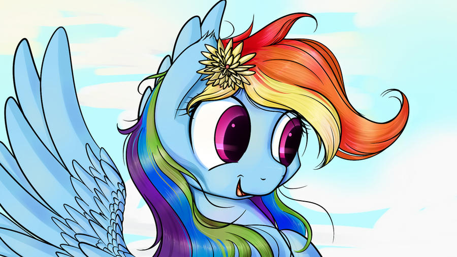 Rainbow Dash by Michinix