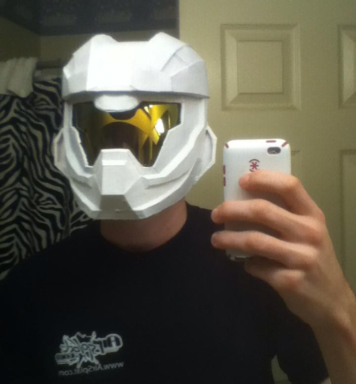 62ac65bf1be Halo 4 Recruit Helmet (WIP) by Stoops-a on DeviantArt