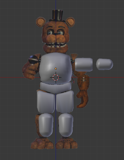 Unwithered Freddy V1 Wip 1 By Starkkidd On Deviantart