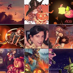 Halloween crazy drawings week !